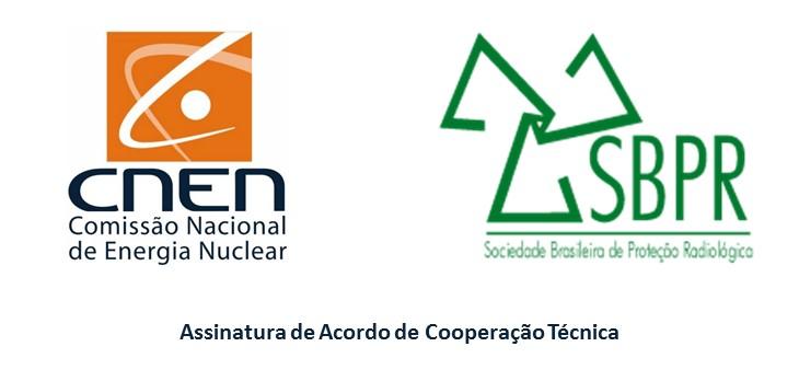 COVID-19: com as restrições impostas pela pandemia, assinatura de acordo de cooperação técnica entre CNEN e SBPR ocorreu de forma remota